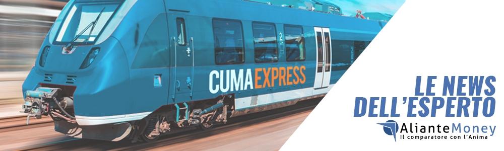 Novita' per il turismo campano - E' tornato il Cuma Express, il treno dei Campi Flegrei