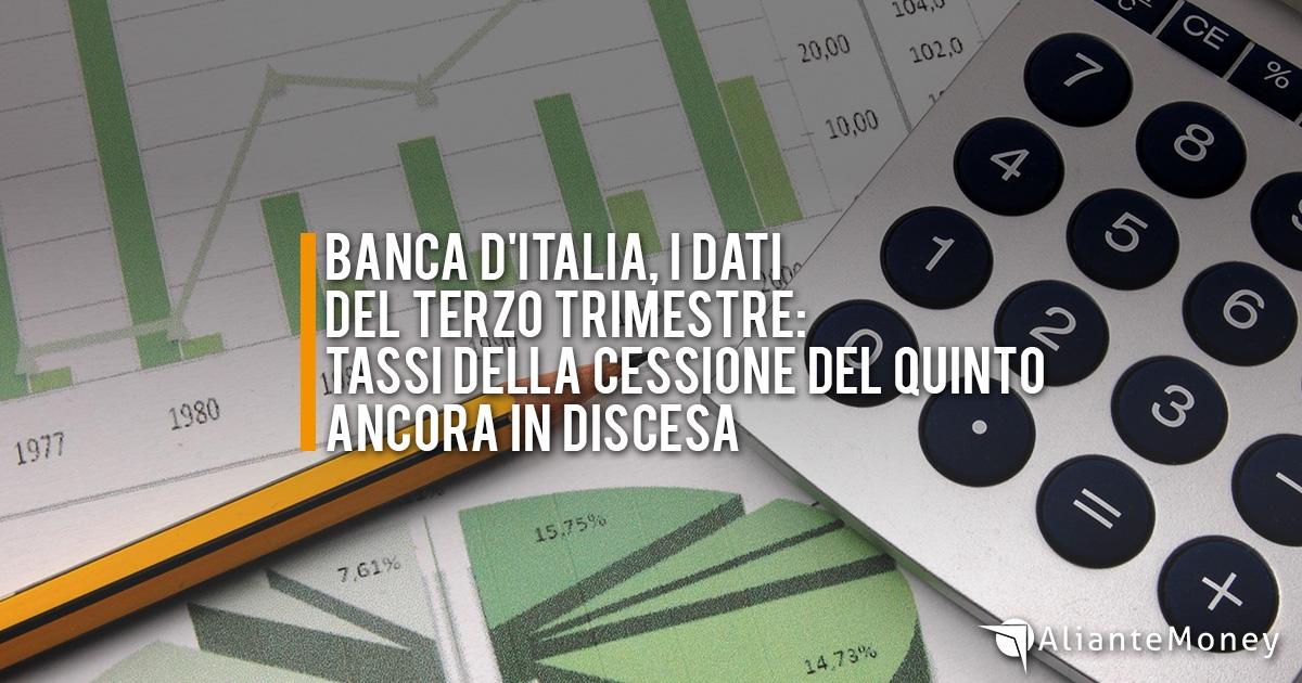 Banca d'Italia, i tassi soglia d'usura per il terzo trimestre 2018