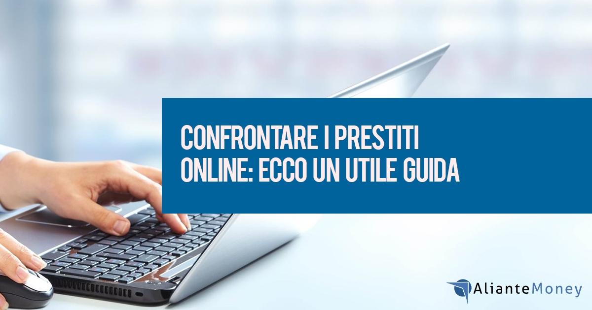 Confronto prestiti online, la guida
