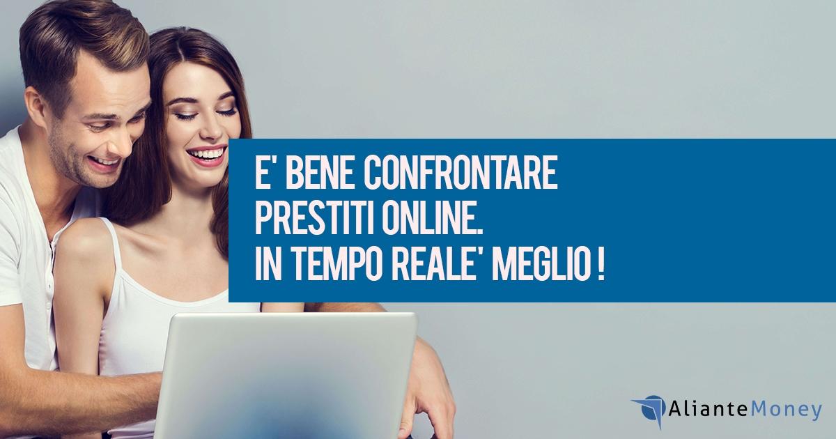 Confronto prestiti online, ottenere preventivi immediati